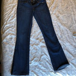 Levi's Jeans - Levi's Boot Cut Mid Rise Med/Dark Wash Jeans
